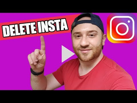 ✅ HOW TO DELETE INSTAGRAM ACCOUNT PERMANENTLY / TEMPORARILY 🔥 [on Phone/Computer] 2019