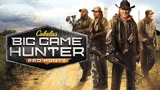 Cabela's Big Game Hunter: Pro Hunts Gameplay (XBOX 360 HD)