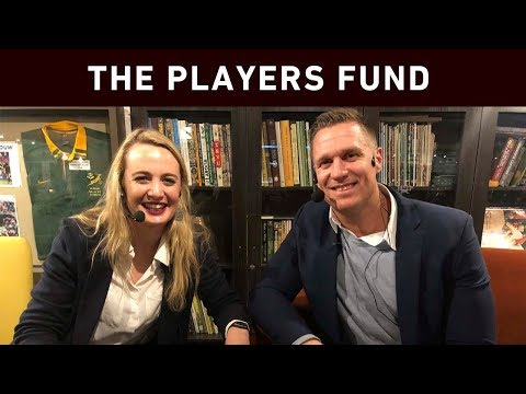 Jean De Villiers: The Players Fund Brings People Together Through Rugby