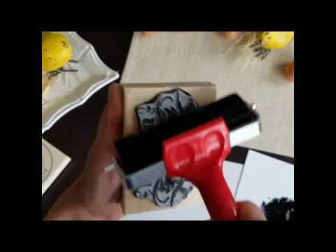 Large Logo Rubber Stamps Video