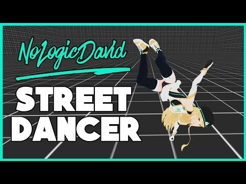 VRCHAT ♡ NOLOGICDAVID - FULL BODY STREET DANCING ♡ FUNNY MOMENTS & BEST HIGHLIGHTS (Virtual Reality)