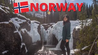 Travelling in Norway| Hemsedal - Rjukandefossen