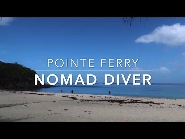 Plongée à l'Anse Leroux by Nomad diver