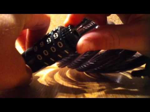 Changer le code d 39 un cadenas explications doovi - Comment changer le code d un cadenas ...