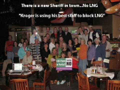 KROGER IS USING HIS BEST STAFF TO BLOCK LNG