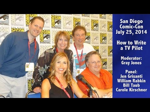 TV Writer Podcast 085 - SDCC 2014 - How to Write a TV Pilot