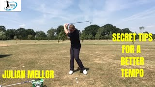 EASIEST SWING IN GOLF, SECRET TIPS FOR A BETTER TEMPO, SENIOR GOLF SPECIALIST