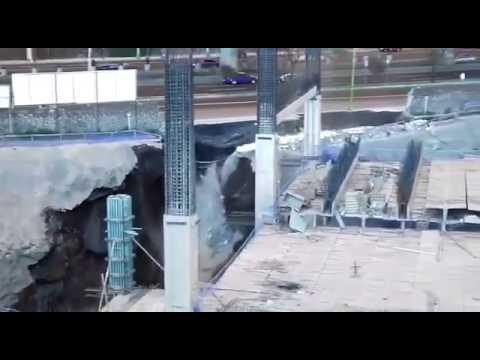 Sale a la luz video de alud en construcción de Artz Pedregal