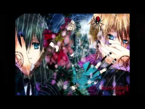 "Nightcore ""Monochrome Kiss (from black butler)"""
