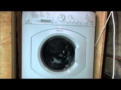 Hotpoint HF8B593 Futura Washing Machine : Seperate rinse and Spin + superwash