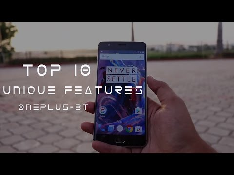 OnePlus 3T - Top 10 Unique Features You May Not Know!