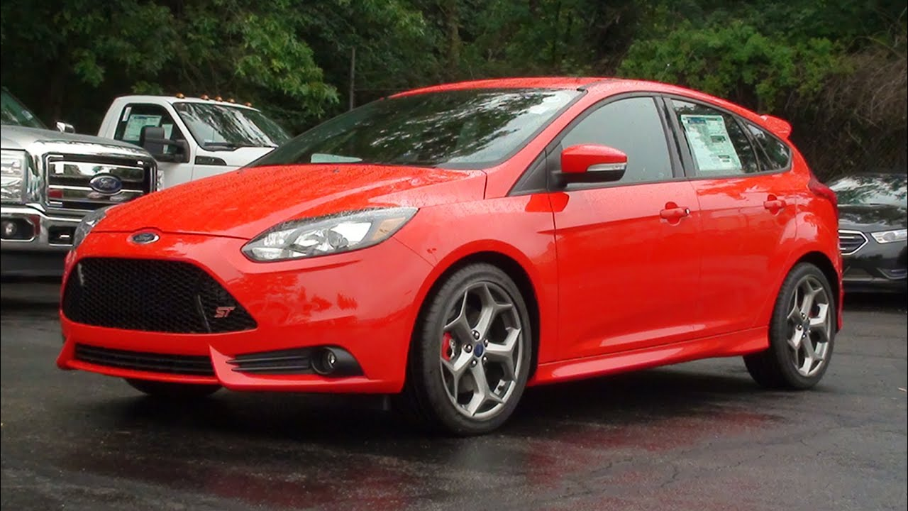 mvs 2014 ford focus st youtube - 2014 Ford Focus St Red