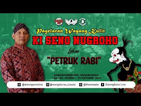 #LiveStreaming KI SENO NUGROHO - PETRUK RABI