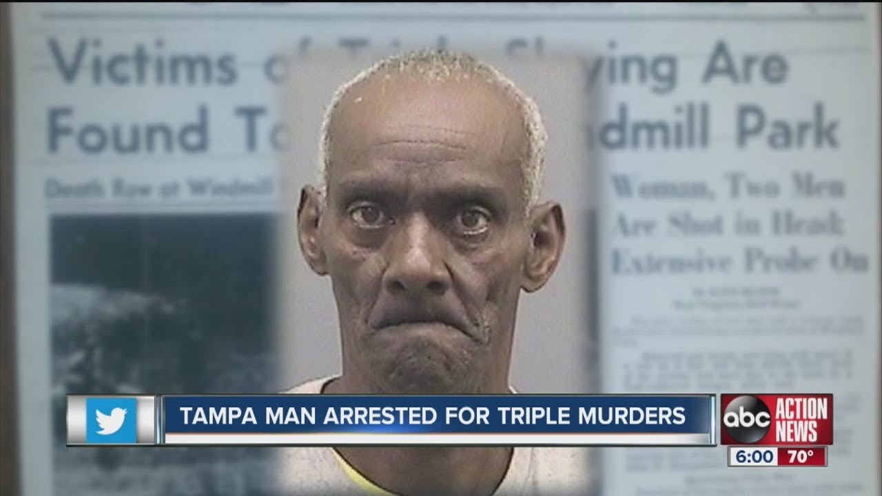 Tampa man arrested for West Virginia murders from 40 years ago