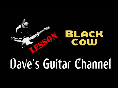 LESSON - Steely Dan's Black Cow