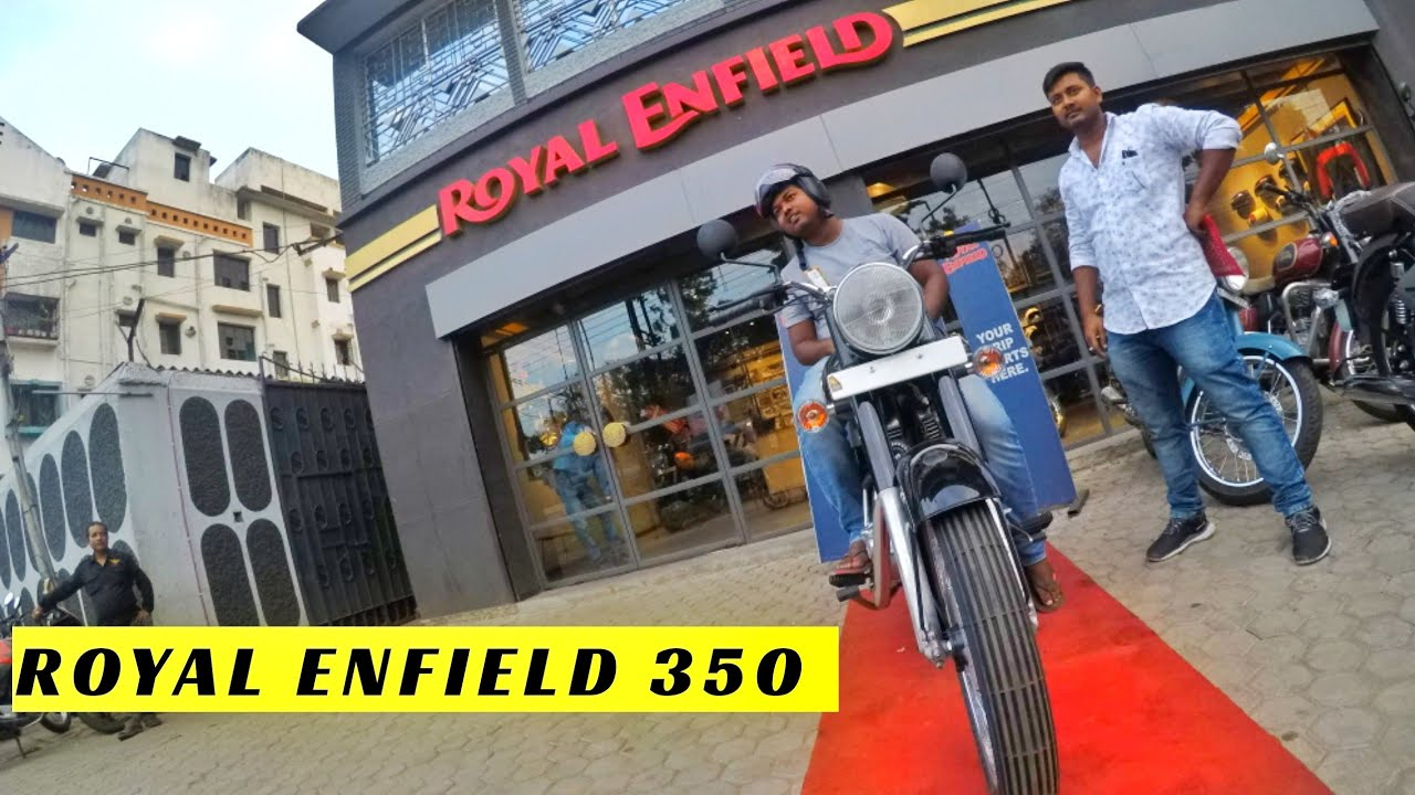 Taking Delivery of ROYAL ENFIELD STANDARD 350 in Asansol Chelidanga