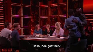 RTL Late Night gemist: Seal schudt geen handen meer