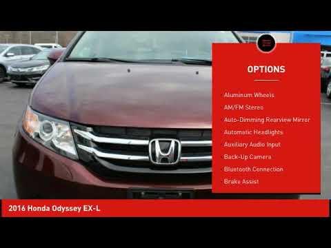 2016 Honda Odyssey Schlossmann Honda City Inventory 91395A