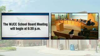 WJCC School Board Meeting from 6/19/18