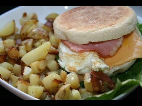 muffin-américain-oeuf-bacon-🇺🇸🍔