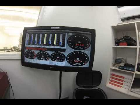 Chevy 604 Crate Motor Dyno Pull