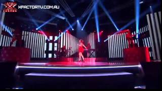 Bella Ferraro - 99 Red Balloons - Live Show 5 - The X Factor 2012