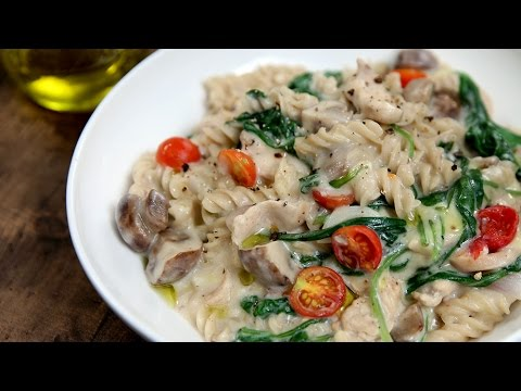 One Pot Chicken Pasta Recipe   Pasta Recipes   Italian Recipes   Quick Pasta Recipe by Varun Inamdar