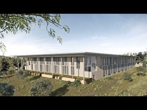 Architectural animation of new Mandel Foundation building
