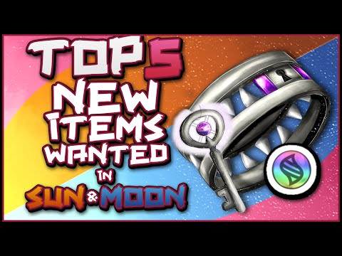 Top 5 NEW Items Wanted in Pokemon Sun and Moon!