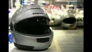 Мотошлемы  Как их делают