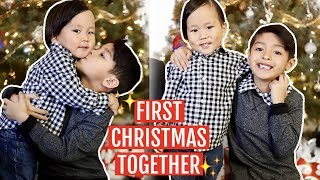 FIRST  CHRISTMAS AS A FAMILY OF 4! (MULTICULTURAL) | Mel and Shane