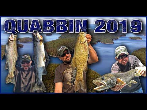 2019 Quabbin Reservoir Fishing Season (Highlights).
