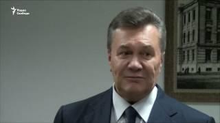 Янукович ждет допроса в Ростове на Дону
