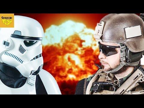 Stormtroopers VS US Marines | Training & Organization