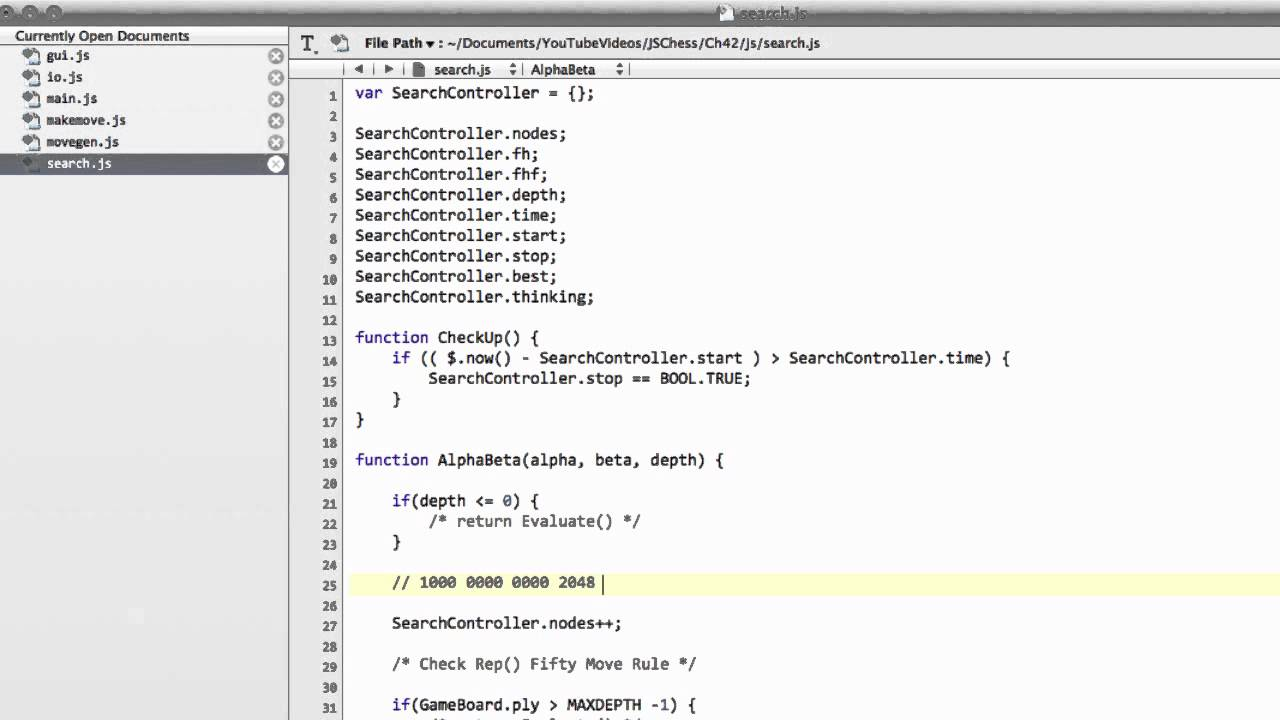 how to make a chess engine in java
