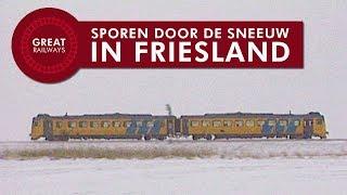 Sporen door de sneeuw in Friesland - Nederlands • Great Railways