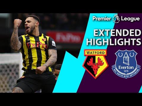 Watford v. Everton | PREMIER LEAGUE EXTENDED HIGHLIGHTS | 2/9/19 | NBC Sports