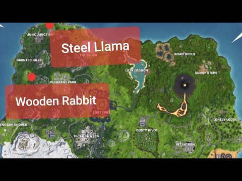 Visit A Wooden Rabbit A Stone Pig And A Metal Llama Week 6 Challenge