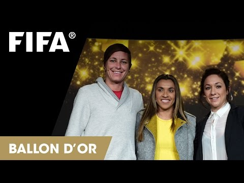 REPLAY: Women's World Player of the Year Press Talk at the FIFA Ballon d'Or 2014