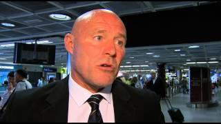 Ireland Womens U19s return home to Dublin Airport