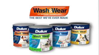 Dulux Wash&Wear Paint - Available at Guthrie Bowron