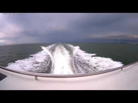 Batam Jet (Pemandangan dari atas kapal, Batam Selatpanjang)