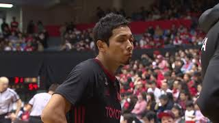 アルバルク東京vs千葉ジェッツ|B.LEAGUE第14節 GAME2Highlights|12.16.2018 プロバスケ (Bリーグ)