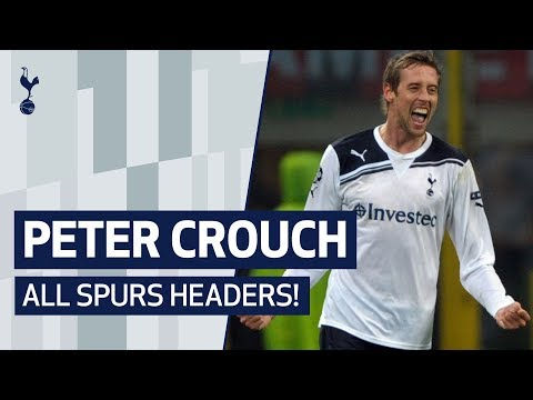 PETER CROUCH | EVERY HEADED GOAL FOR TOTTENHAM HOTSPUR ⚽