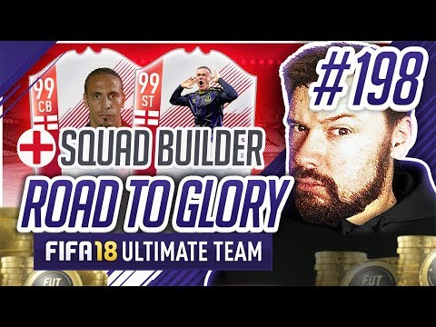 NEW FULL ENGLAND SQUAD BUILDER!! - #FIFA18 Road to Glory! #198 Ultimate Team
