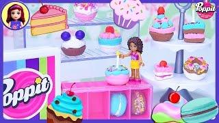 Poppit Pop ' N ' 'Display Bäckerei DIY Ton Kuchen, Donuts, Macarons Erstellen Sie Dumm Spiel - Kinder-Spielzeug