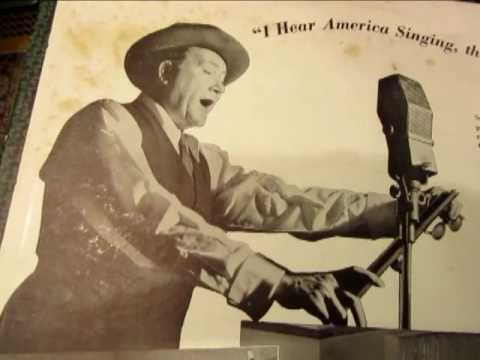 I Hear America Singing - Walt Whitman - John Charles Thomas - Baritone - 78 rpm