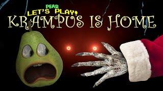 KRAMPUS TERRIFIES PEAR!!! (Krampus is Home)