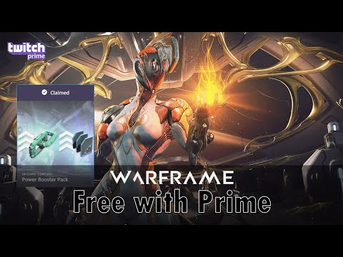Warframe - Free with Prime: Power Booster Pack (Jan 2020)