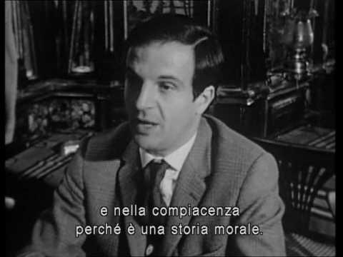 Truffaut parla del film Jules et Jim, sub Ita